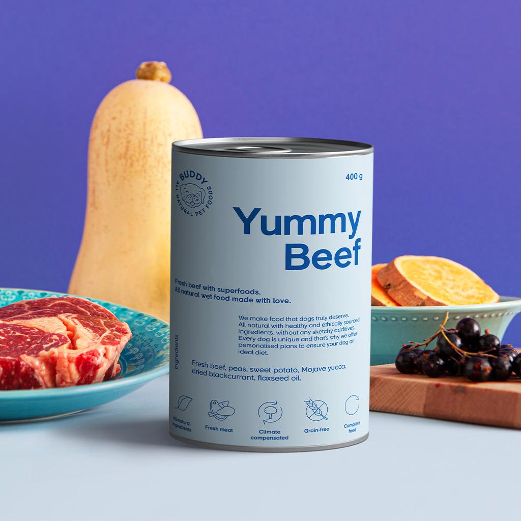 Yummy Beef 400g
