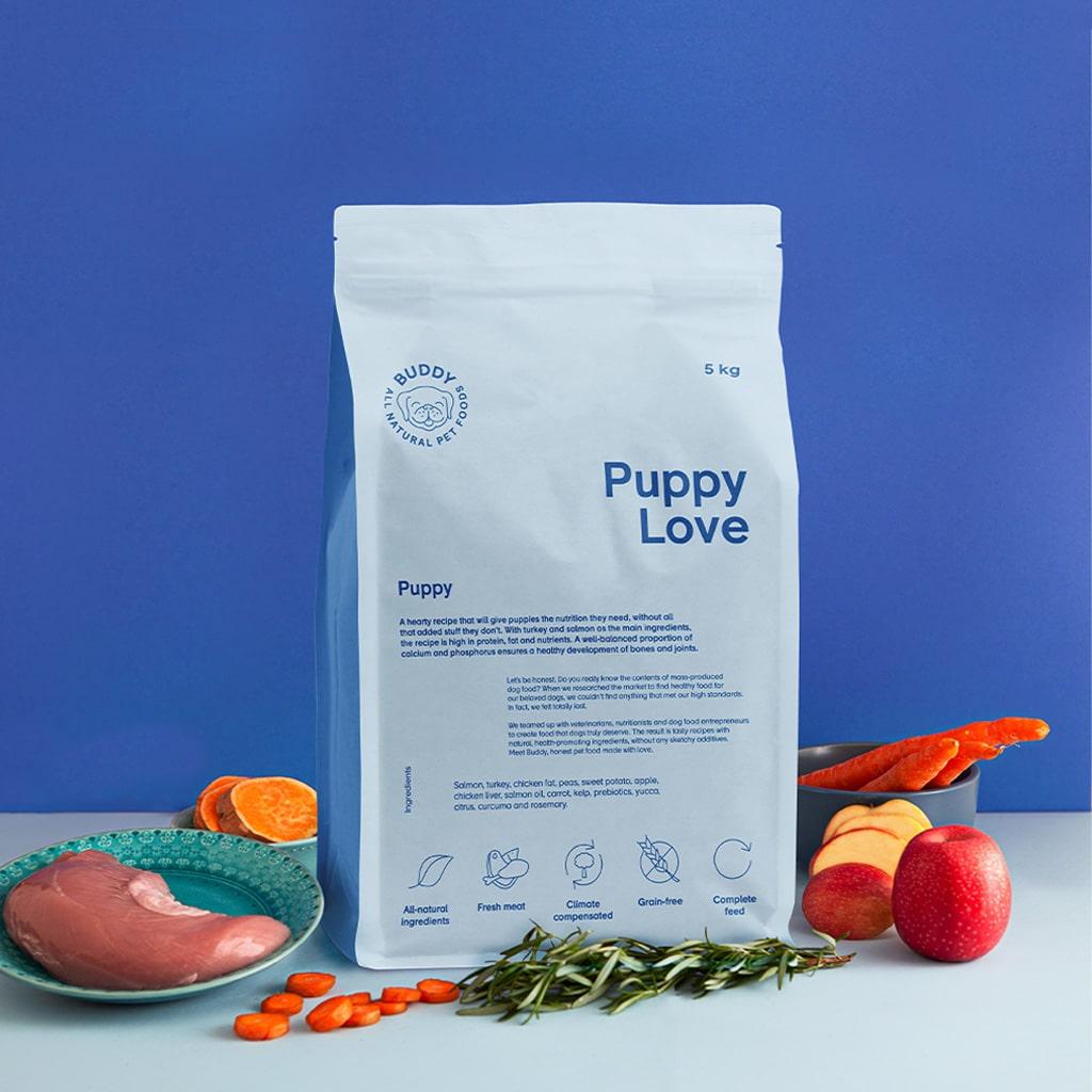 buddy pet foods_nyttig hundmat för valpar
