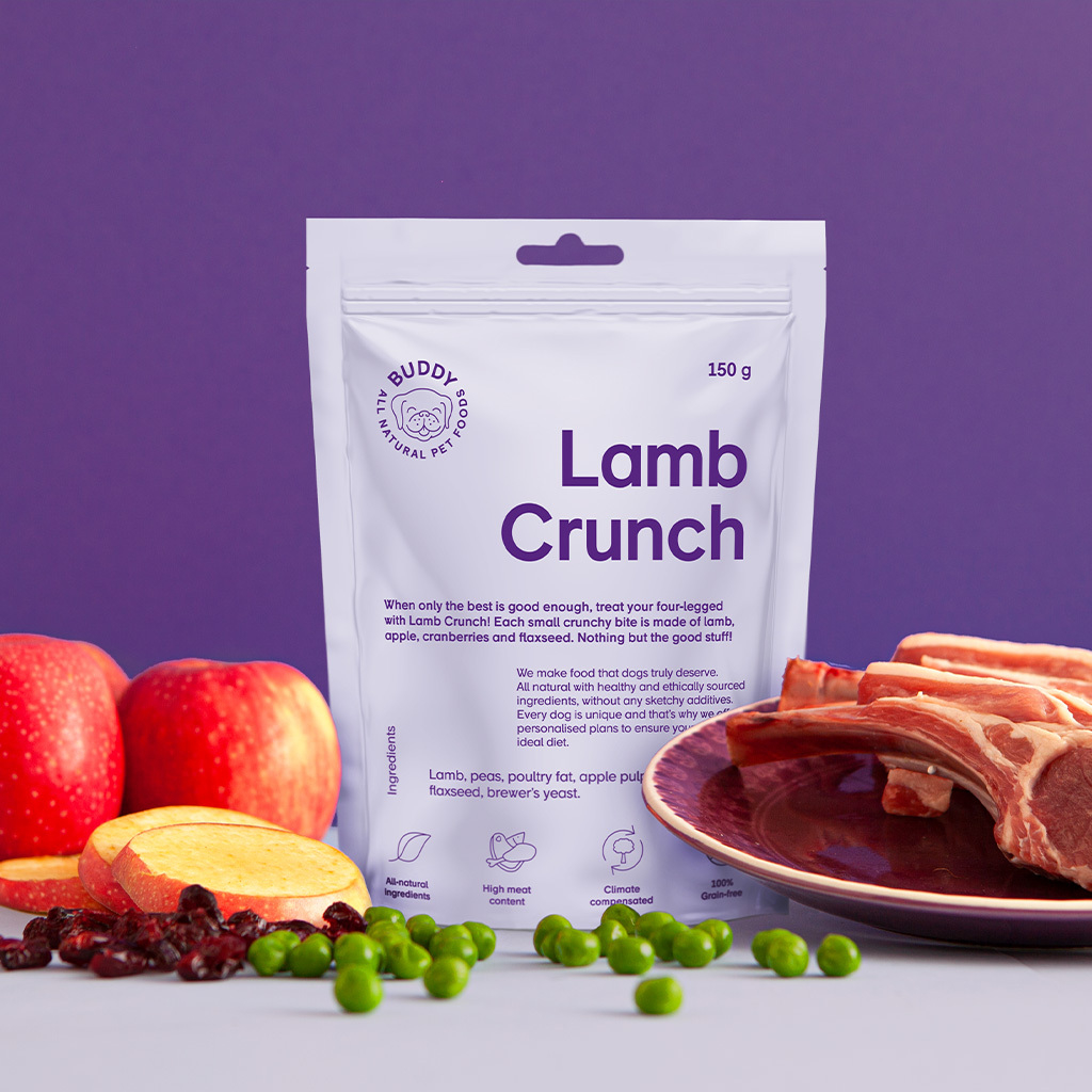 buddy pet foods_ nyttig hundmat med lamm
