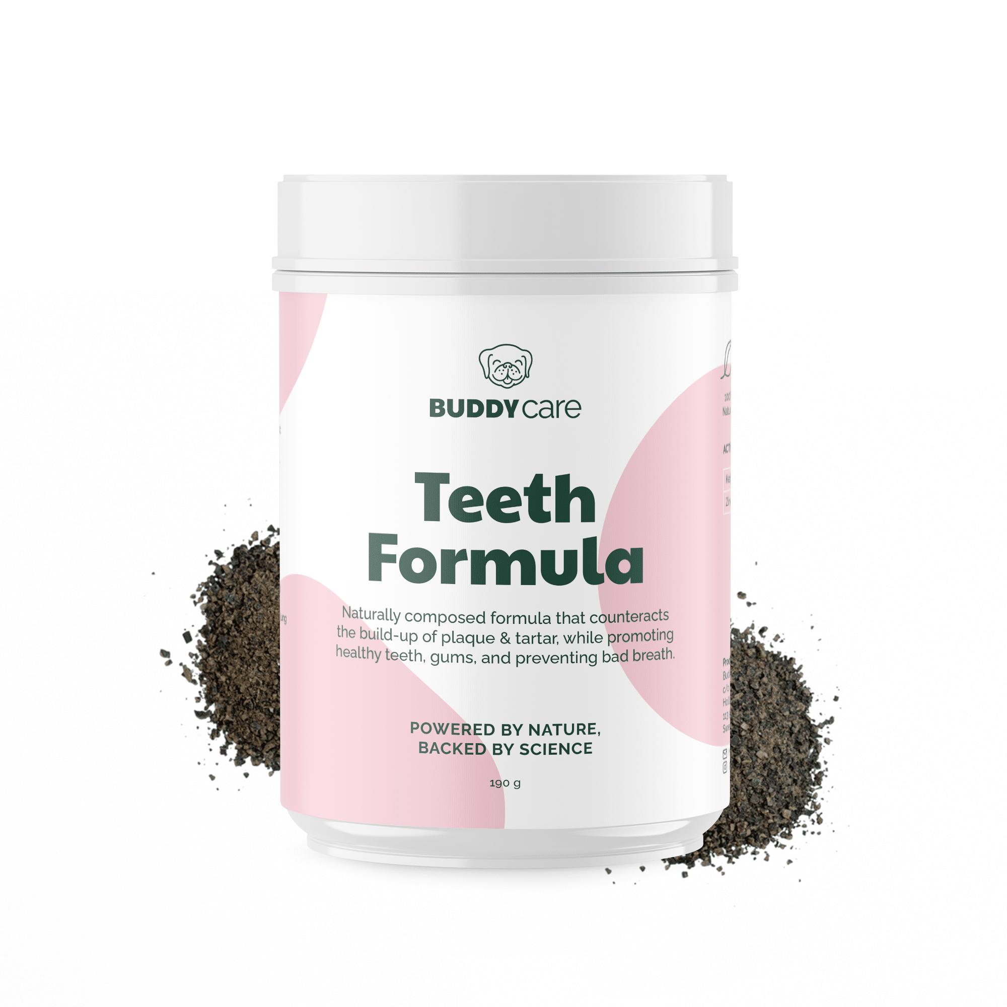 Buddy Pet Foods | Kosttillskott för hundar | Teeth Formula